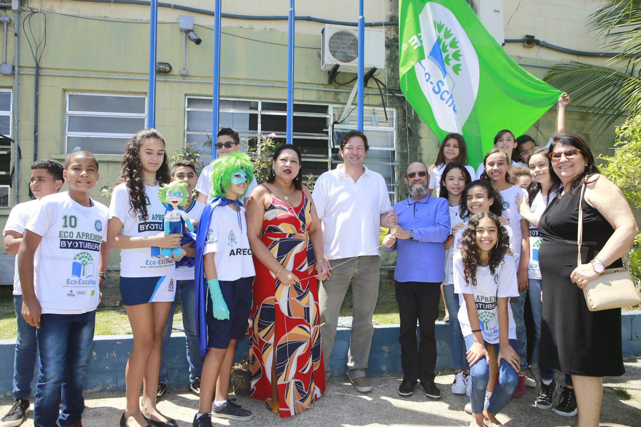 Guarujá é exemplo em programa mundial de educação sustentável