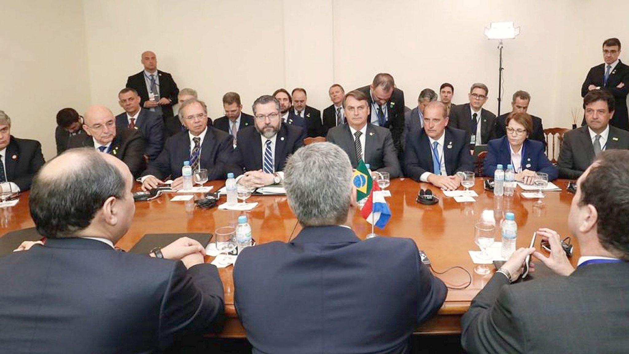 Bolsonaro recebe líderes sul-americanos para reunião da 55ª Cúpula do Mercosul