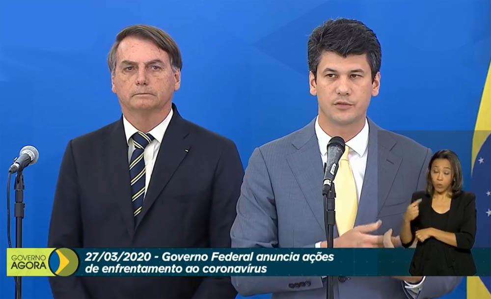 Ao vivo: Bolsonaro faz pronunciamento sobre combate à covid-19