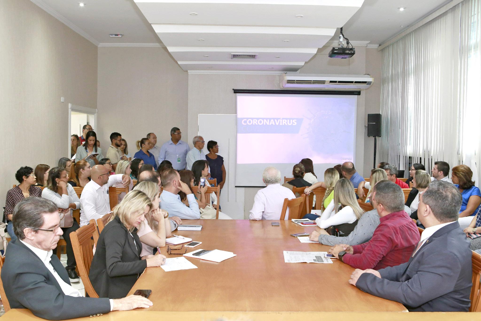 Prefeitura cria 'Sala de Situação' em prevenção aos coronavírus