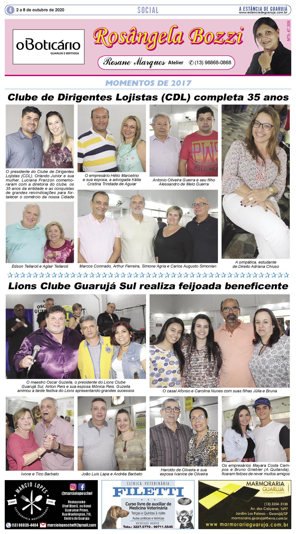 Aniversário do Clube de Dirigentes Lojistas (CDL)