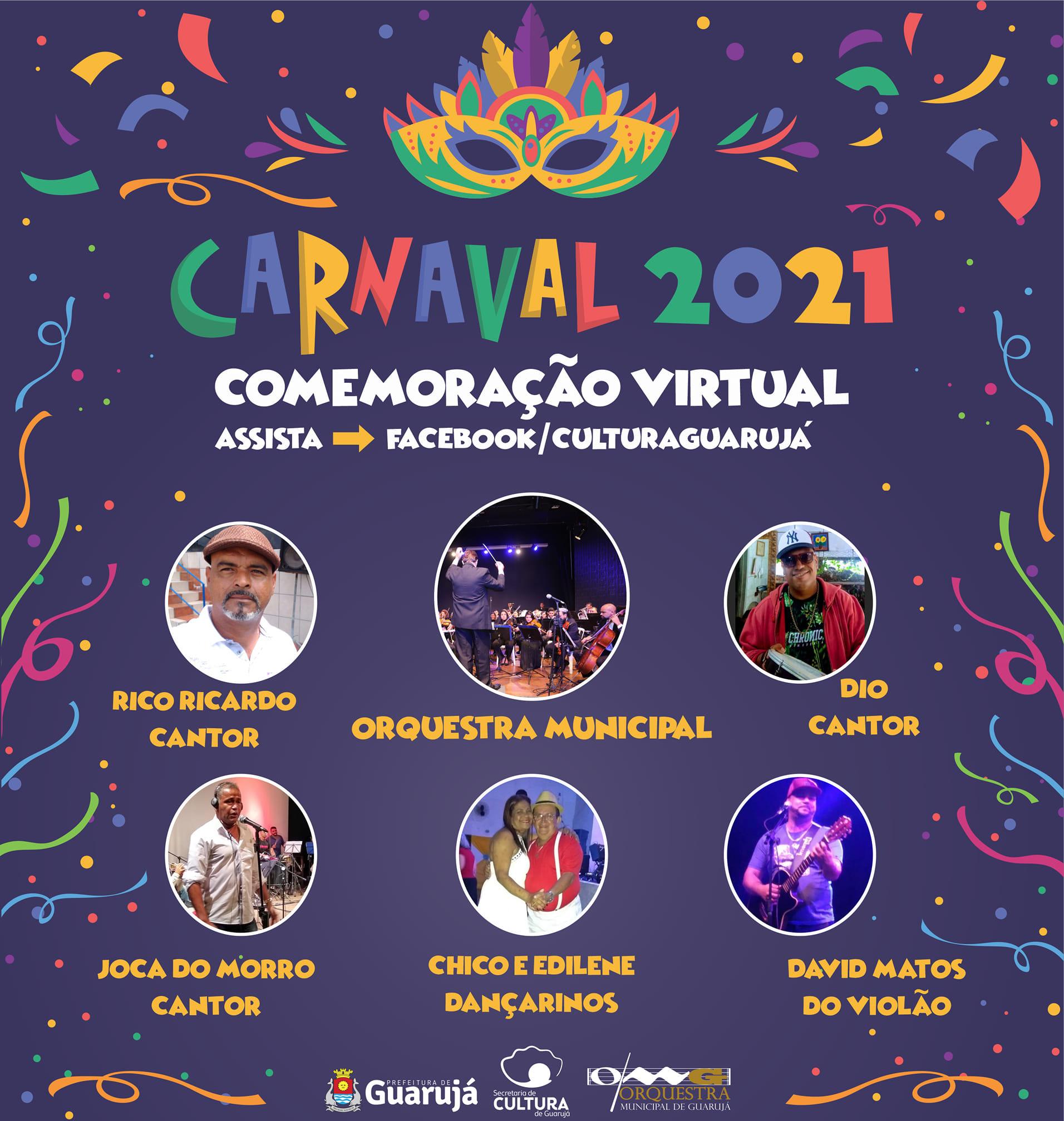 Orquestra Municipal apresenta 'Carnaval 2021 on-line'
