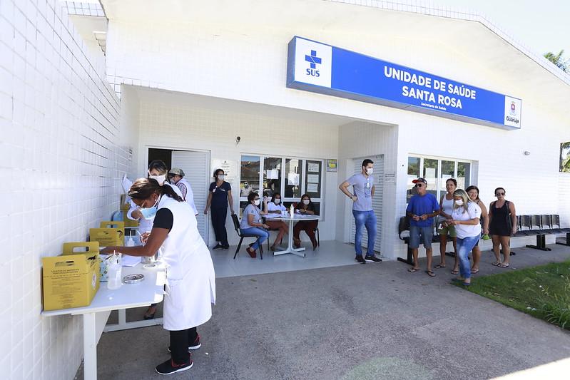 Guaruja inicia vacinação gripe